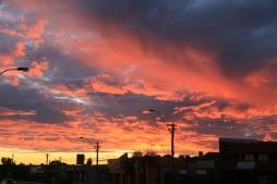 Amazing sunset to finish the day